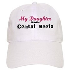 My Daughter Wears Combat Boot Baseball Cap