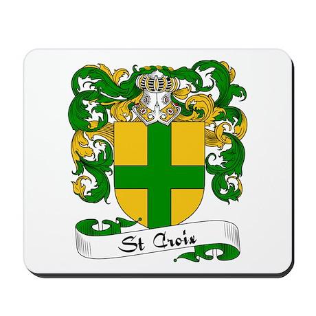 St. Croix Family Crest Mousepad