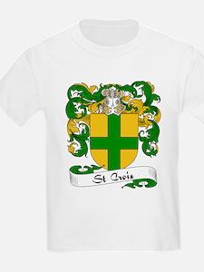 St. Croix Family Crest Kids T-Shirt