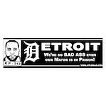 Detroit Kwame Sticker