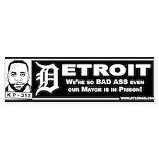 Detroit Kwame Bumper Sticker