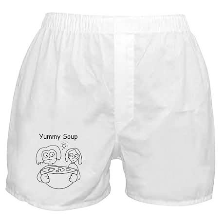 yummy soup Boxer Shorts