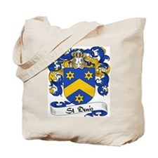 St. Denis Family Crest Tote Bag