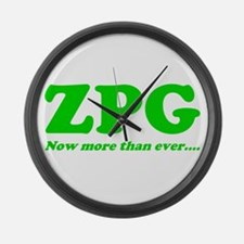 ZPG Large Wall Clock