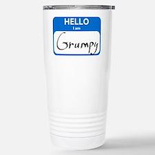 Grumpy Stainless Steel Travel Mug