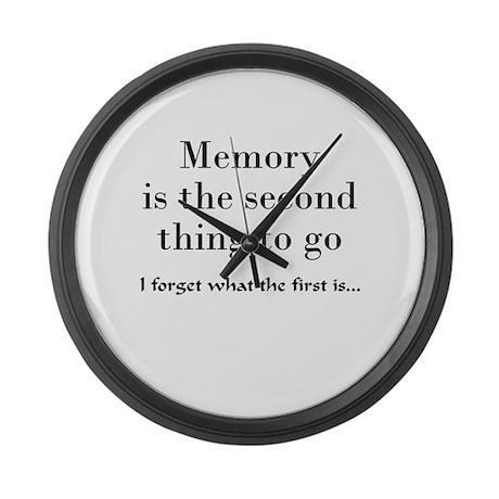 Memory Large Wall Clock