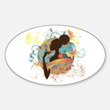 Musical Dream Oval Decal