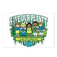 Earth Kids California Postcards (Package of 8)