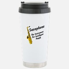 Sax Genius Stainless Steel Travel Mug