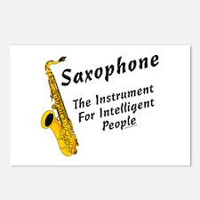 Sax Genius Postcards (Package of 8)