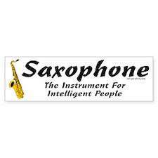 Sax Genius Bumper Stickers