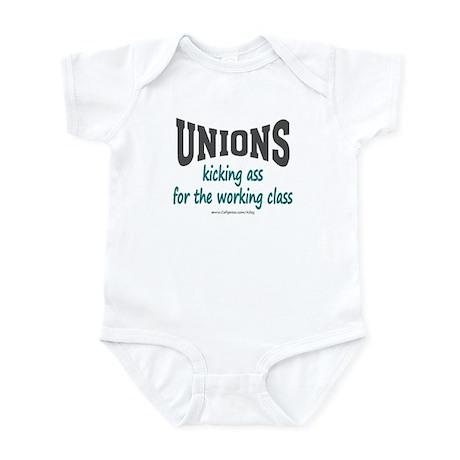 Unions Kicking Ass Infant Bodysuit