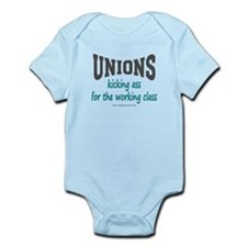 Unions Kicking Ass Onesie