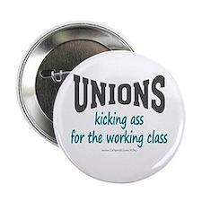 """Unions Kicking Ass 2.25"""" Button"""