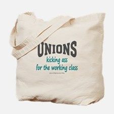Unions Kicking Ass Tote Bag