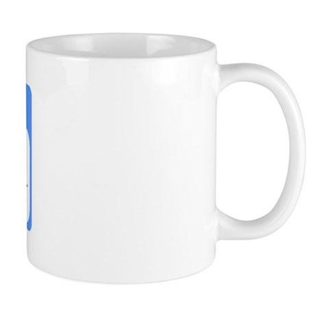 My Name Is Uncle To Be (Blue) Mug