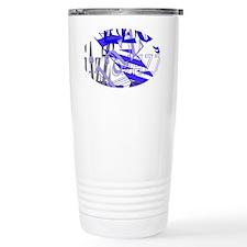 Jazz Blue Travel Mug