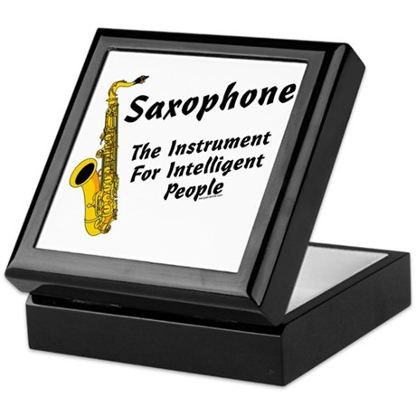 Sax Genius Keepsake Box