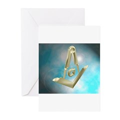 Floating Tools Greeting Cards (Pk of 10)