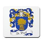 St. Paul Family Crest Mousepad