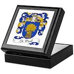 St. Paul Family Crest Keepsake Box
