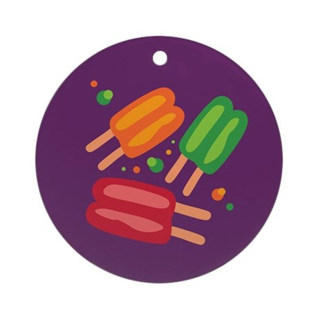 Icepops Ornament (Round)