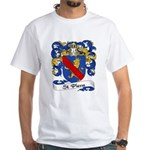 St. Pierre Family Crest White T-Shirt