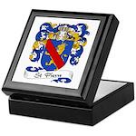 St. Pierre Family Crest Keepsake Box