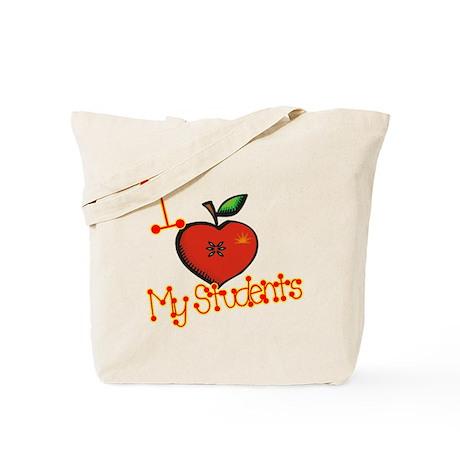I Love My Students Tote Bag