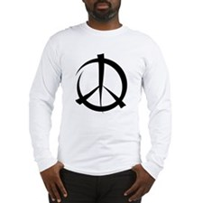 peacesignonly Long Sleeve T-Shirt