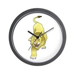 Lion Animal Art Tattoo Wall Clock