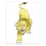 Lion Animal Art Tattoo Small Poster