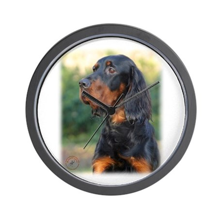 Gordon Setter 9Y109D-021 Wall Clock