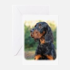 Gordon Setter 9Y109D-021 Greeting Cards (Pk of 10)