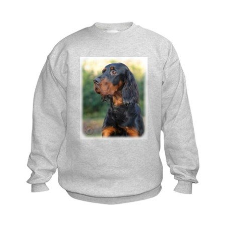 Gordon Setter 9Y109D-021 Kids Sweatshirt
