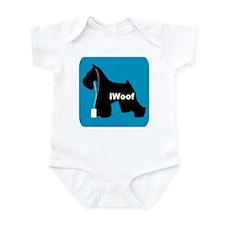 iWoof Schnauzer Infant Bodysuit