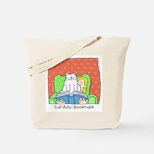 Cat Duty: Bookmark Tote Bag