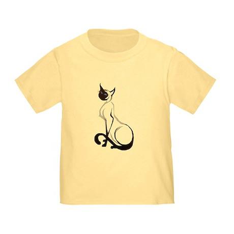 Sitting Siamese Toddler T-Shirt