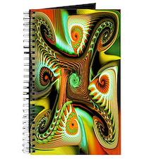 """""""Fiery Angel"""" Fractal Art Journal"""