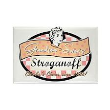 Grandma Swan's Stroganoff Rectangle Magnet