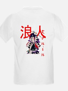 Ronin - Masterless Samurai Kids T-Shirt