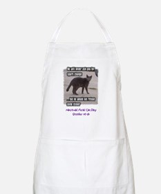 National Feral Cat Day BBQ Apron