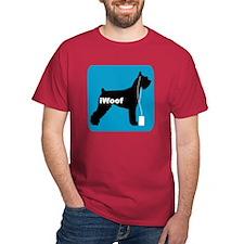 iWoof Schnauzer T-Shirt