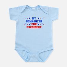 Schnauzer PRESIDENT Infant Bodysuit