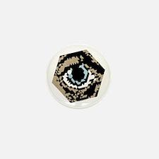 Hex Eye Mini Button
