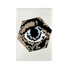 Hex Eye Rectangle Magnet