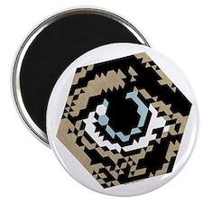 "Hex Eye 2.25"" Magnet"