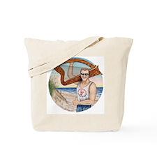 Harp Schlepper Hunk Tote Bag