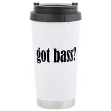Got Bass Ceramic Travel Mug