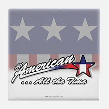 All American... Tile Coaster